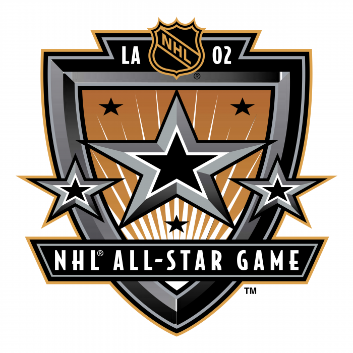 NHL All Star Game 2002 logo