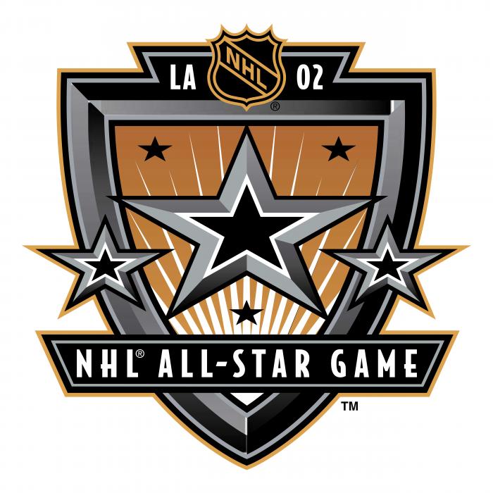 NHL All Star Game 2002 logo