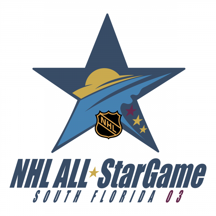 NHL All Star Game logo 2003