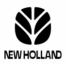 New Holland logo black
