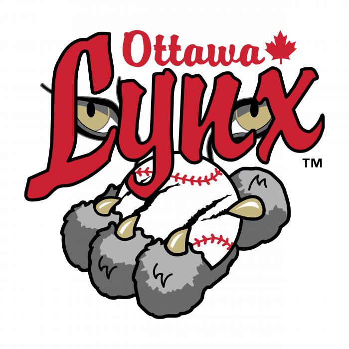 Ottawa Lynx logo red
