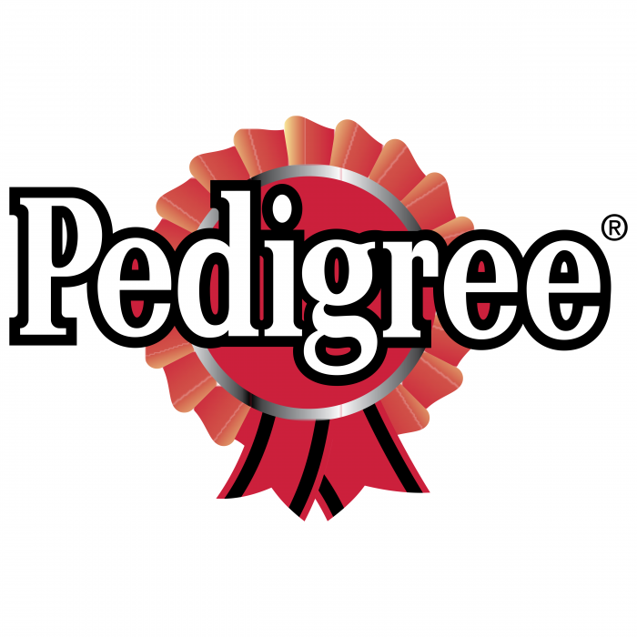 Pedigree logo red