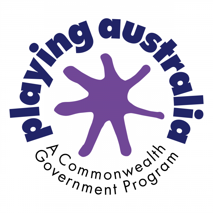 Playing Australia logo