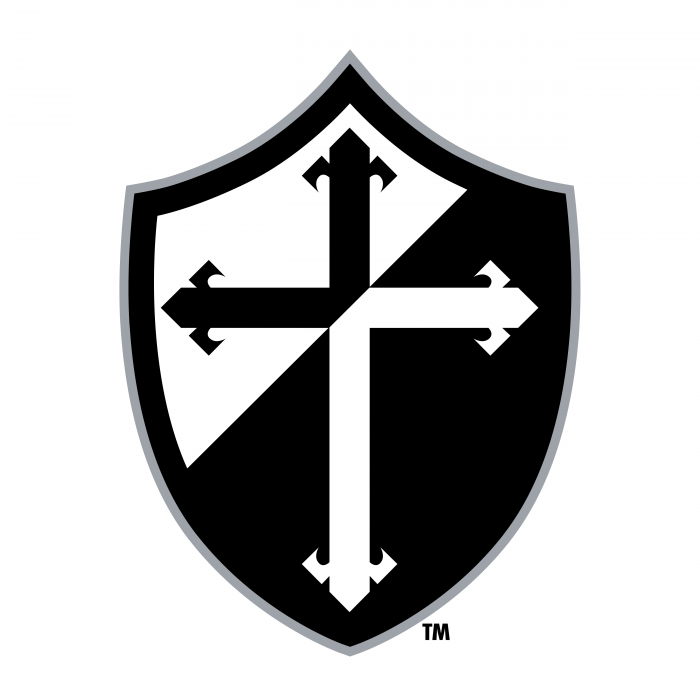Providence College Friars logo black