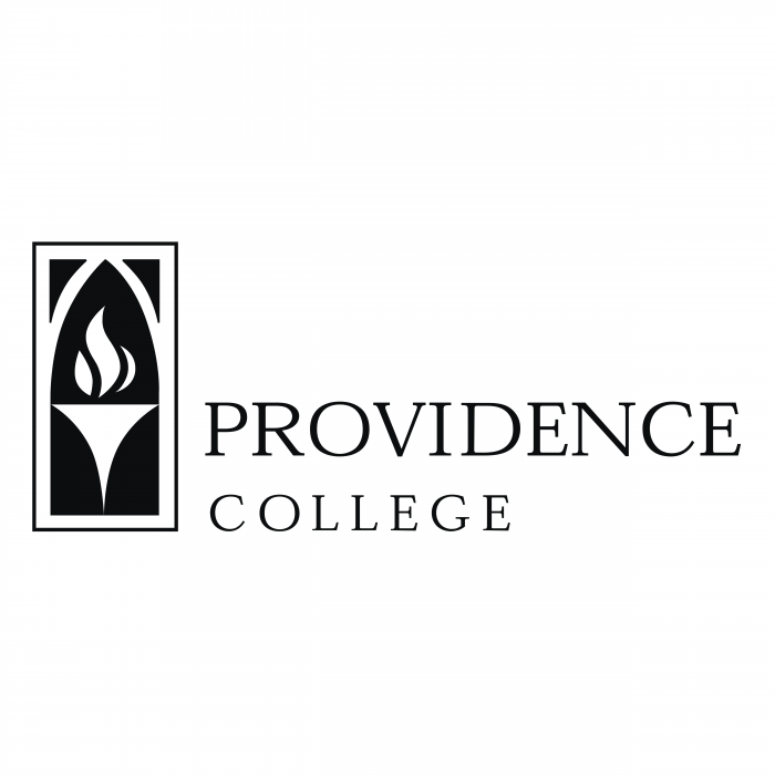 Providence College logo black