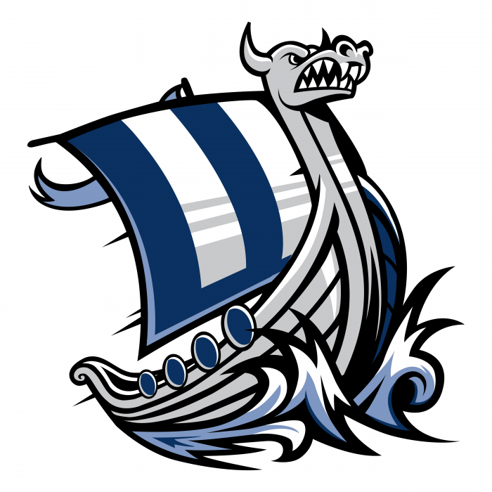 WWU Vikings logo ship