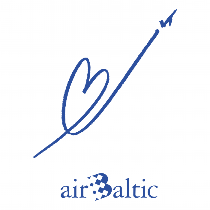 Air Baltic logo heart