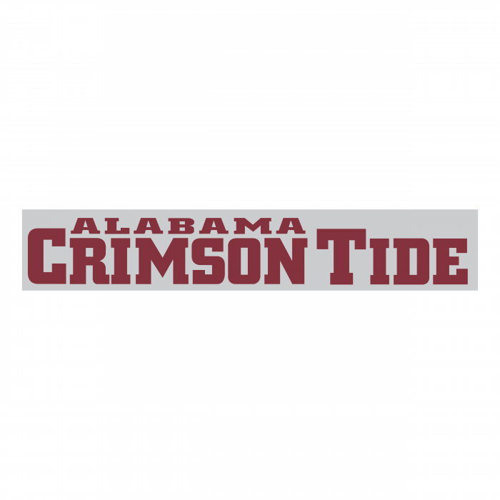 Alabama Crimson Tide logo words