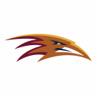 Atlanta Thrashers logo orange