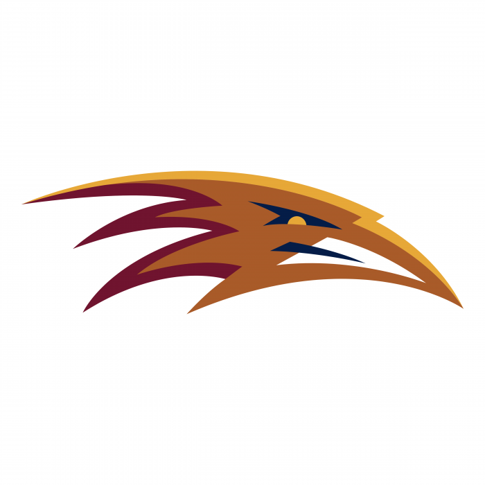 Atlanta Thrashers logo orange