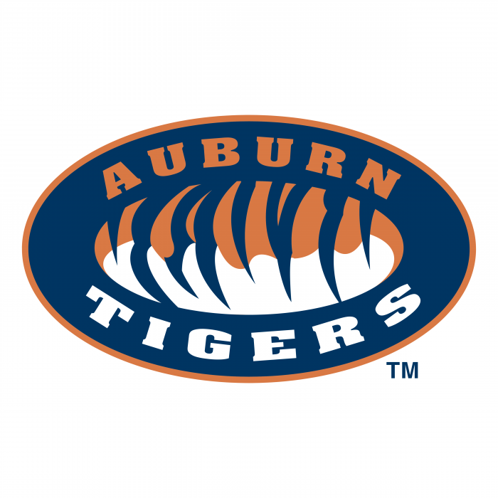 Auburn Tigers logo blue
