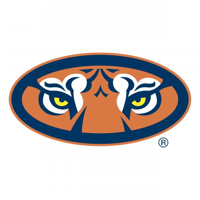 Auburn Tigers logo eyes