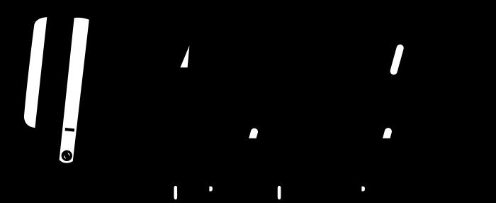 Auto Meter logo black