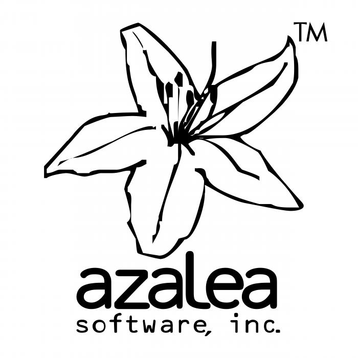 Azalea Software logo black