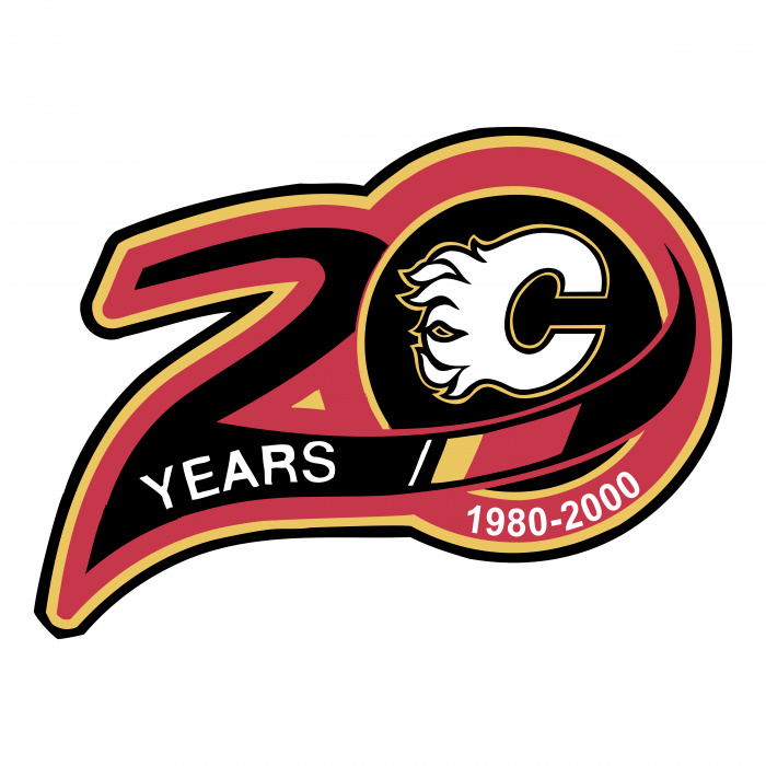 Calgary Flames logo 20