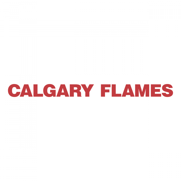 Calgary Flames logo words