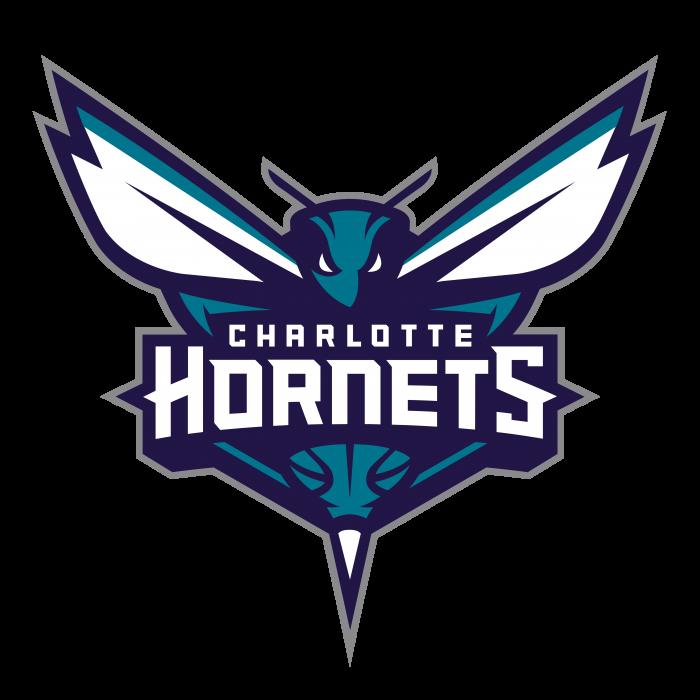 Charlotte Hornets logo blue