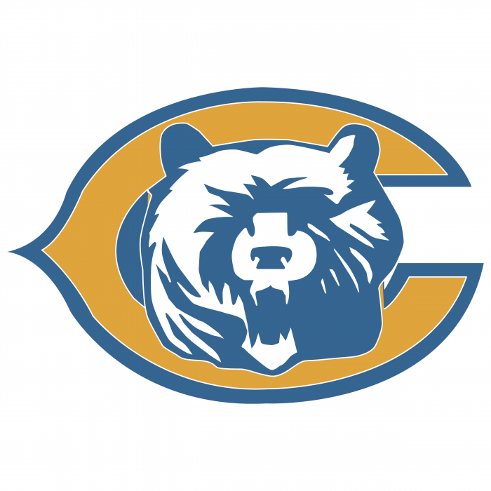 Chicago Bears logo yellow