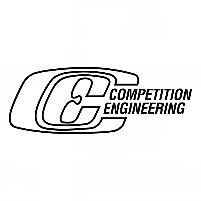 Competition Engineering logo white