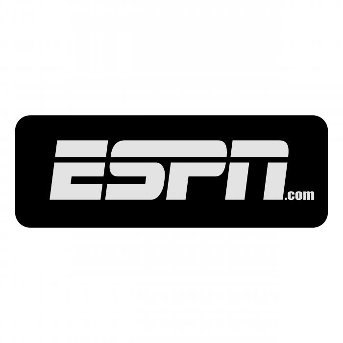 ESPN.com logo black