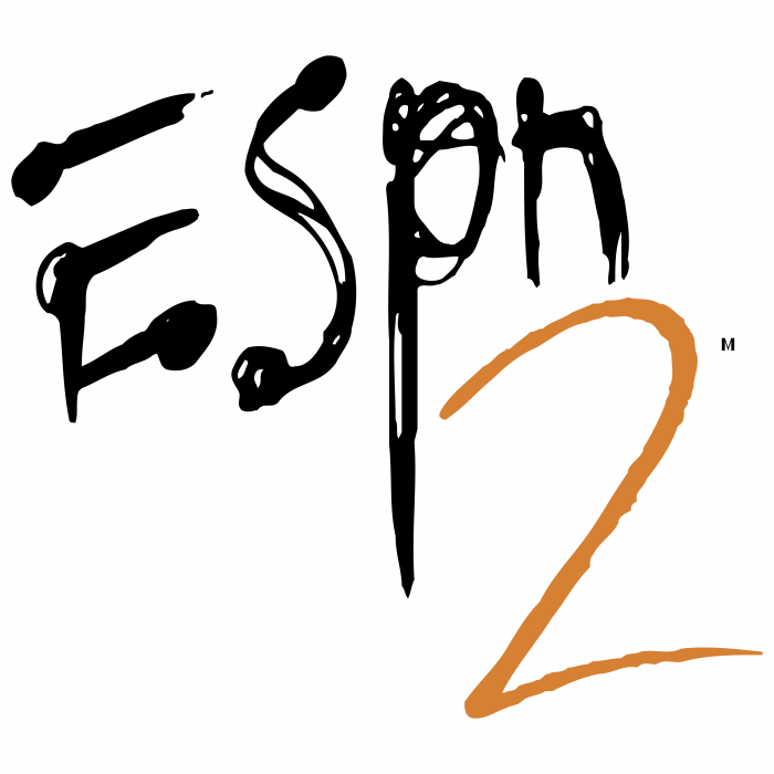 ESPN2 logo brown