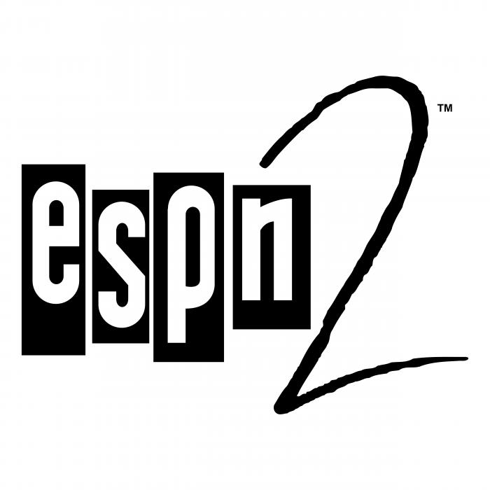 ESPN2 logo white
