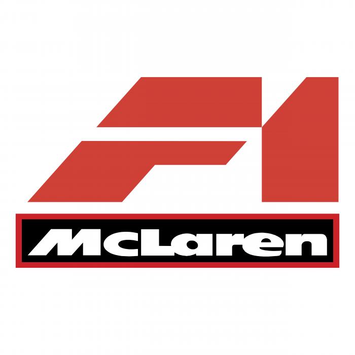 F1 McLaren logo red