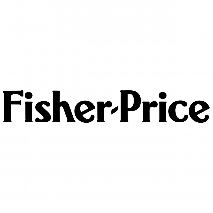 Fisher Price logo black