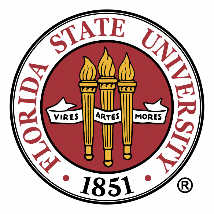 Florida State University logo color