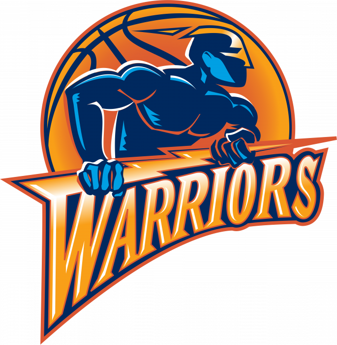Golden State Warriors logo orange