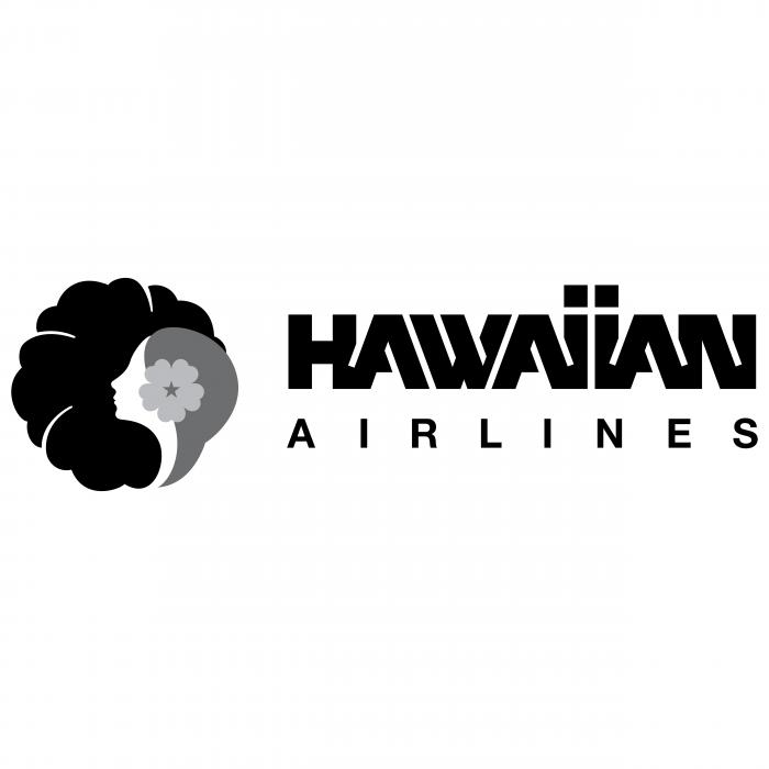Hawaiian Airlines logo black