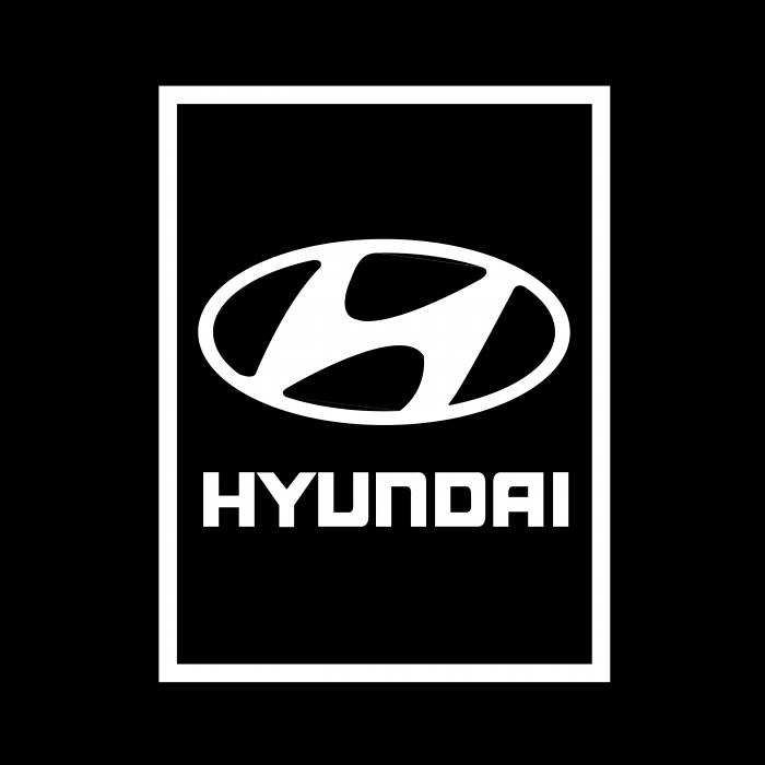 Hyundai Motor Company logo black