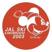 Jal Ski Snowboard logo 2003