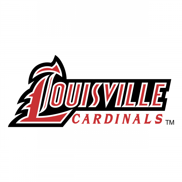 Louisville Cardinals logo red