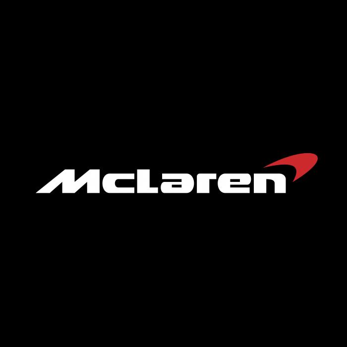 McLaren logo cube