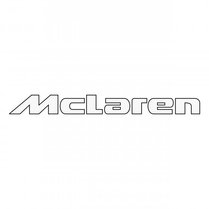 McLaren logo white