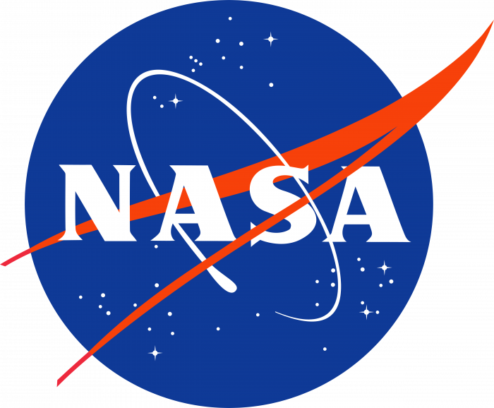 NASA logo blue