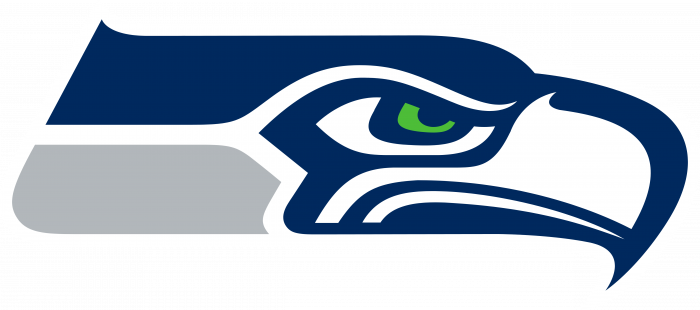 Seahawks logo grey