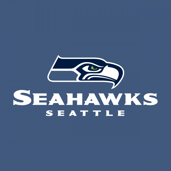 Seattle Seahawks logo cube