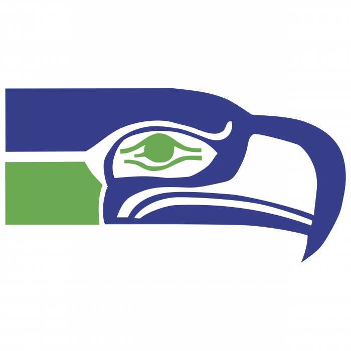 Seattle Seahawks logo green