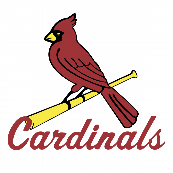 St. Louis Cardinals logo red