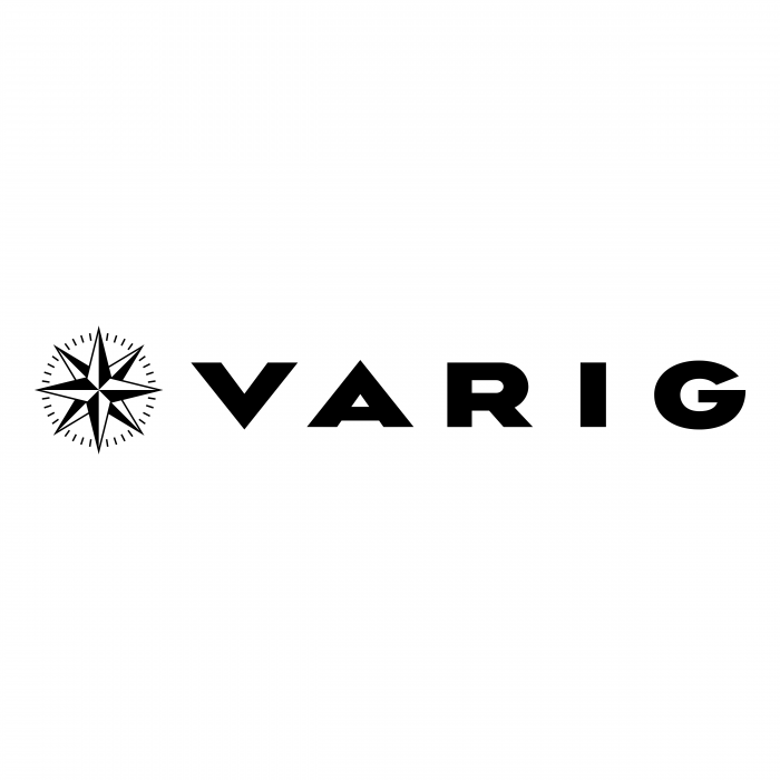 Varig logo black