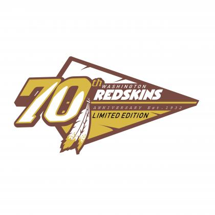 Washington Redskins logo 70