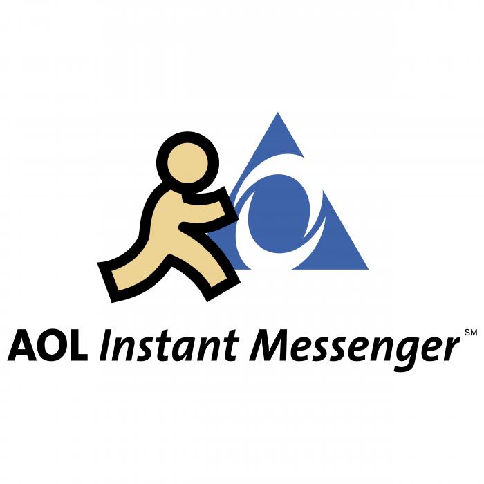 AOL Instant logo messenger