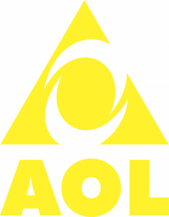 AOL logo yellow