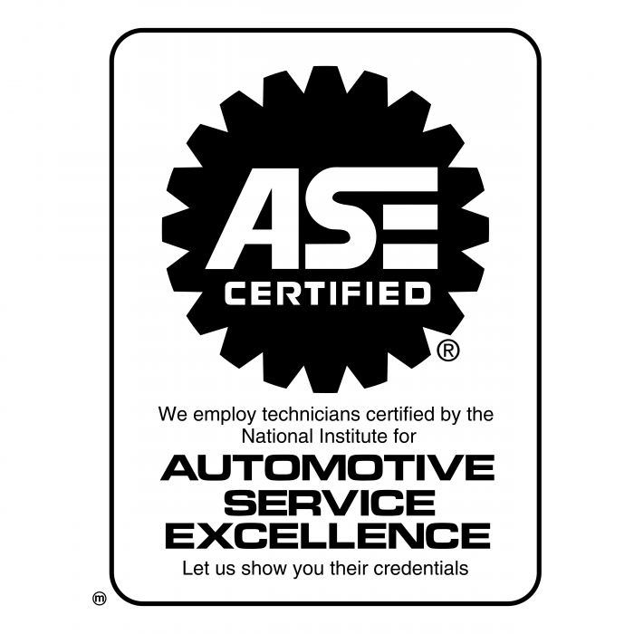 ASE Certified logo white