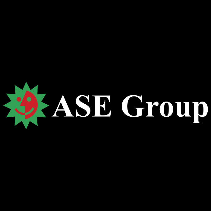 ASE Group logo black