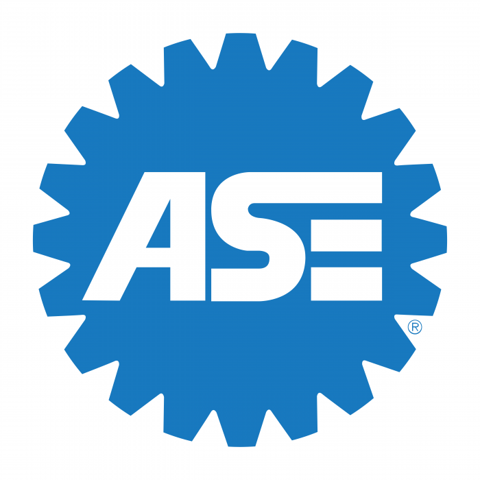 ASE logo blue