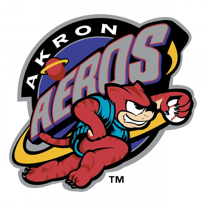 Akron Aeros logo TM