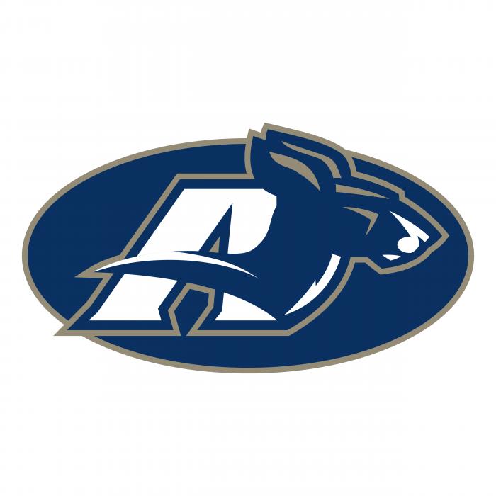 Akron Zips logo oval